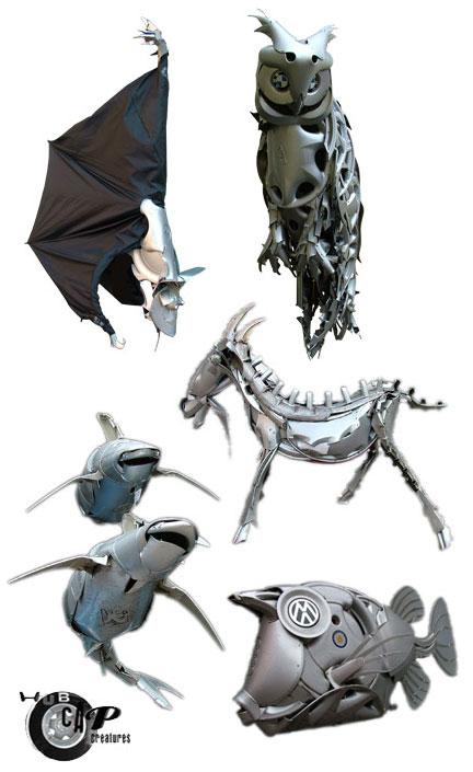 hubcap-creatures